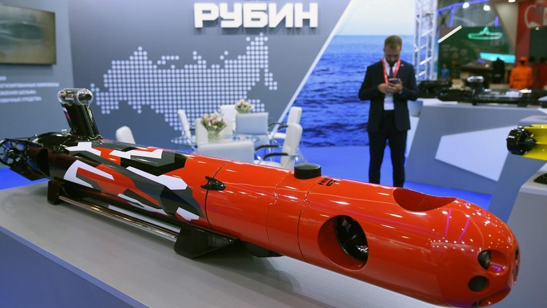 Russland testet Unterwasserdrohnen, die feindliche U-Boote orten und jagen können