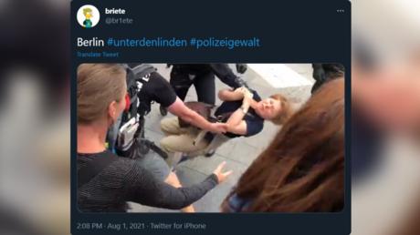Polizeigewalt in Berlin: UN-Sonderberichterstatter bittet um Zeugenaussagen