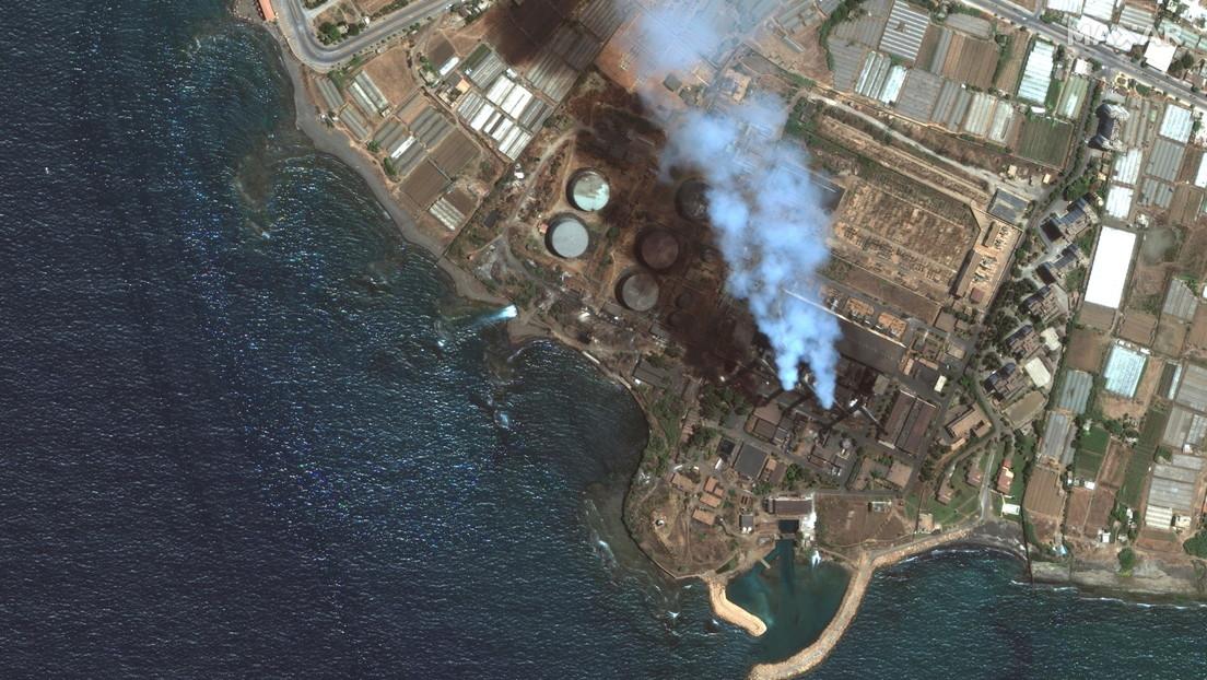 Riesiger Ölteppich aus syrischem Kraftwerk treibt auf Zypern zu