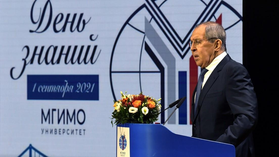 Russlands Außenminister Lawrow warnt den Westen vor Anzweiflung des Wahlergebnisses in Russland