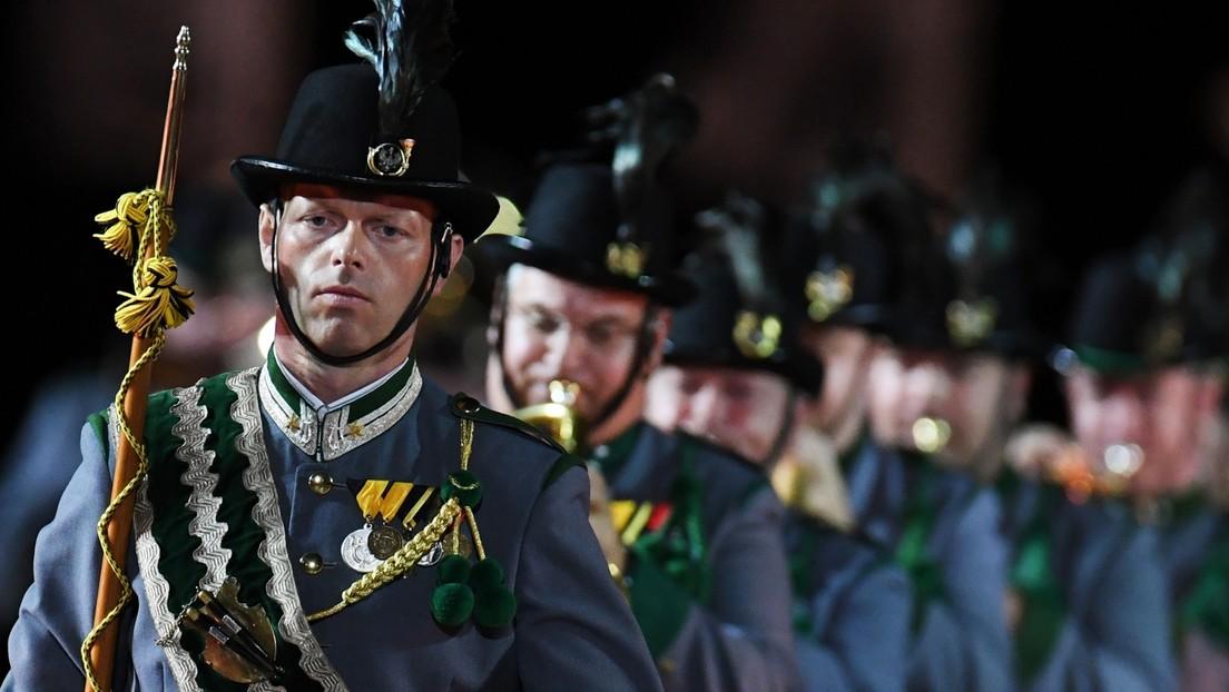 Musik trotz Corona-Krise: Militärmusik Tirol schickt Video für Orchesterschau in Moskau