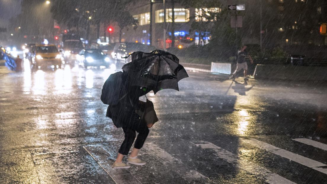 Ida in den USA: Tornados in New Jersey, erste Sturzflut in der Geschichte von New York (Videos)