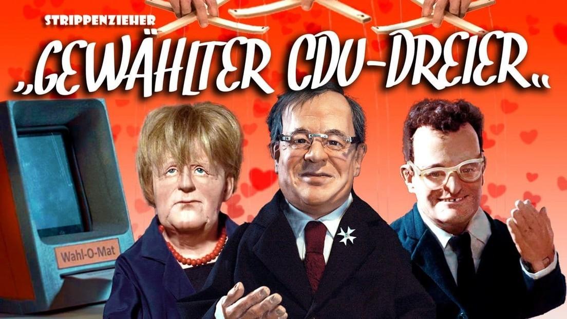 Gewählter CDU-Dreier   Machtorgie um jeden Preis   Strippenzieher