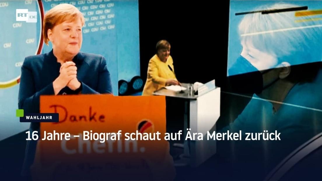 """16 Jahre – Biograf schaut auf أ""""ra Merkel zurأ¼ck"""