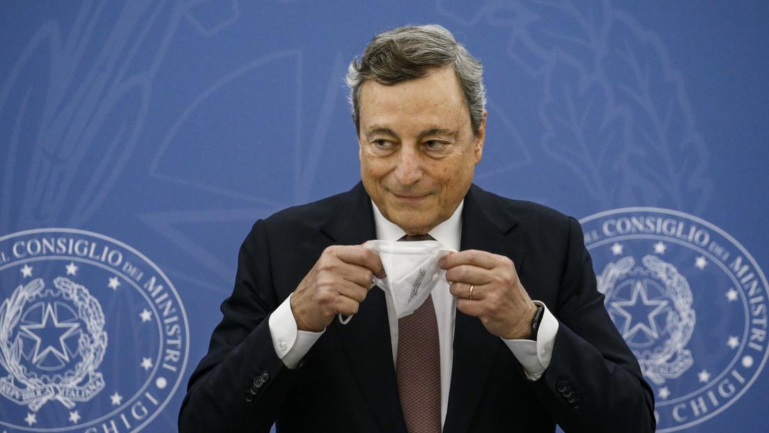 Italien: Ministerpräsident Draghi will Impfpflicht und dritte Impfung