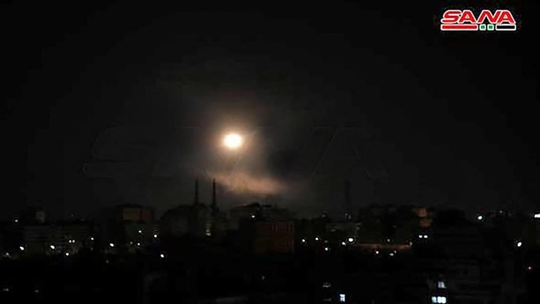 Nach israelischen Luftangriffen bei Damaskus: Syrische Rakete explodiert in der Nähe von Tel Aviv