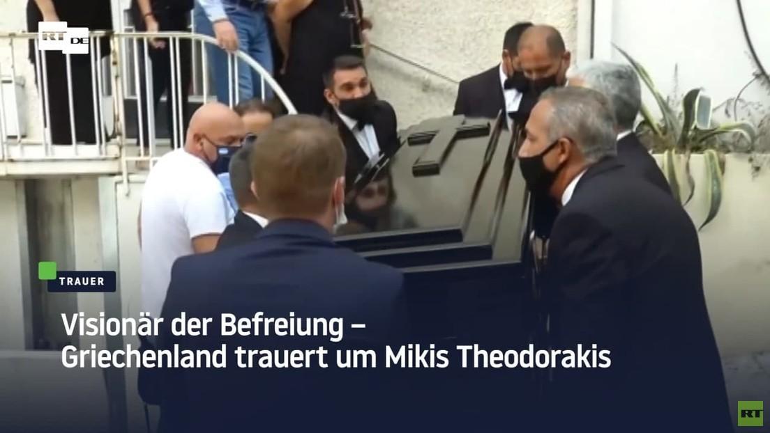 Visionär der Befreiung - Griechenland trauert um Mikis Theodorakis