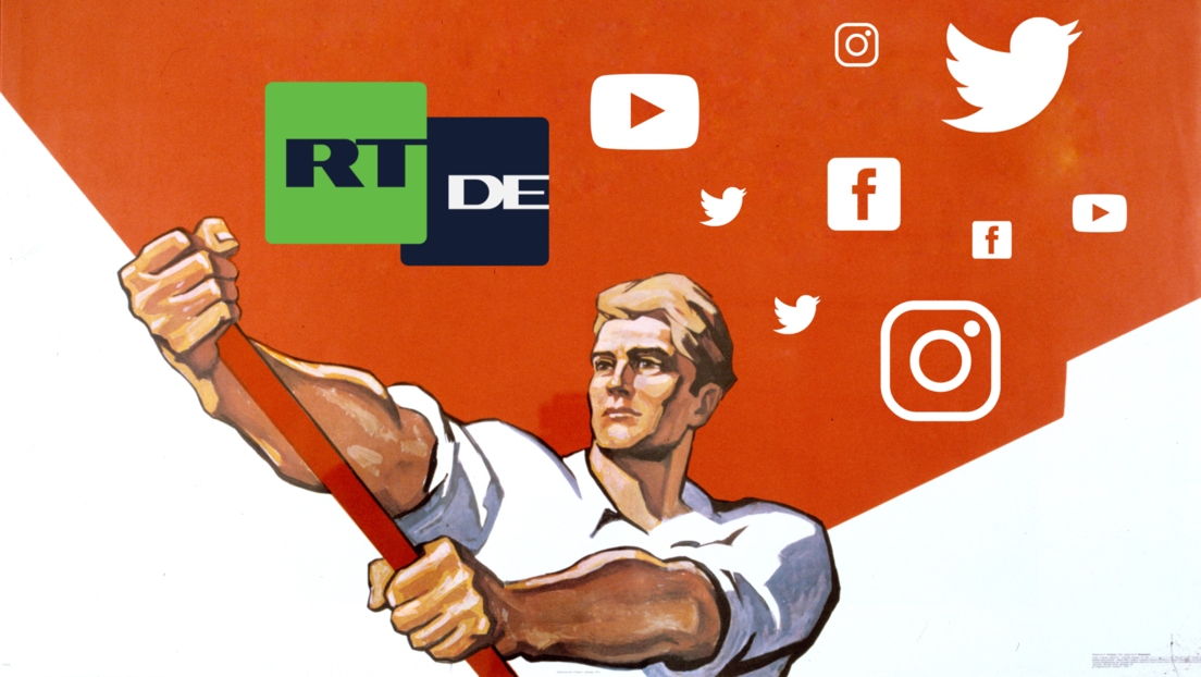 Prompt nach Übernahme durch Springer: Magazin Politico entdeckt Feindbild RT DE