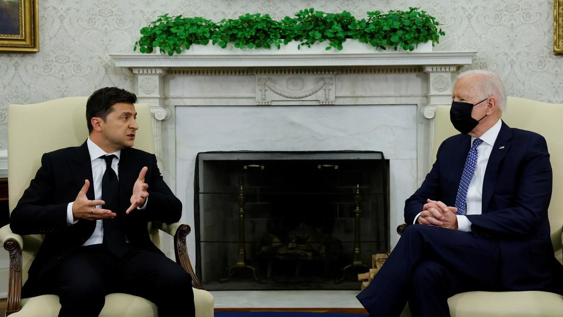 """USA-Besuch von Selenskij: Dominosteine, gute """"Hurensöhne"""" und strategisches Schweigen"""
