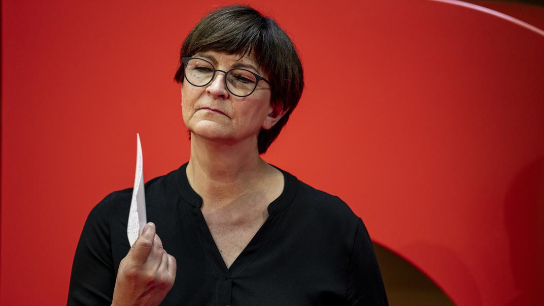 Rot-Grün-Rot? – SPD-Vorsitzende fordert Bekenntnis zur NATO von Die Linke