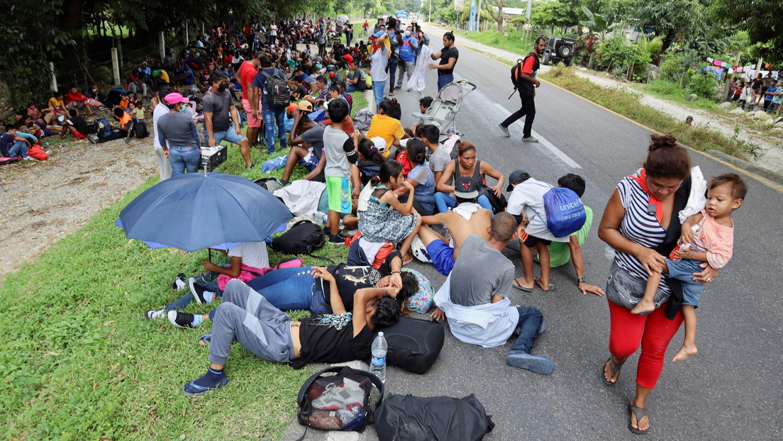 Neue Migrantenkarawane bricht von Mexiko in Richtung USA auf