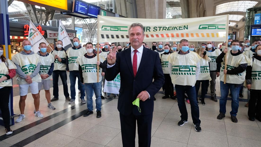 Streik bei der Bahn: GDL-Chef Weselsky weist Kritik vom Deutschen Gewerkschaftsbund zurück