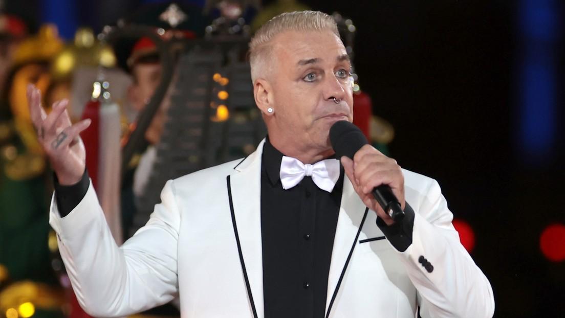 Rammstein-Sänger Till Lindemann begeistert bei Militärmusik-Festival in Moskau