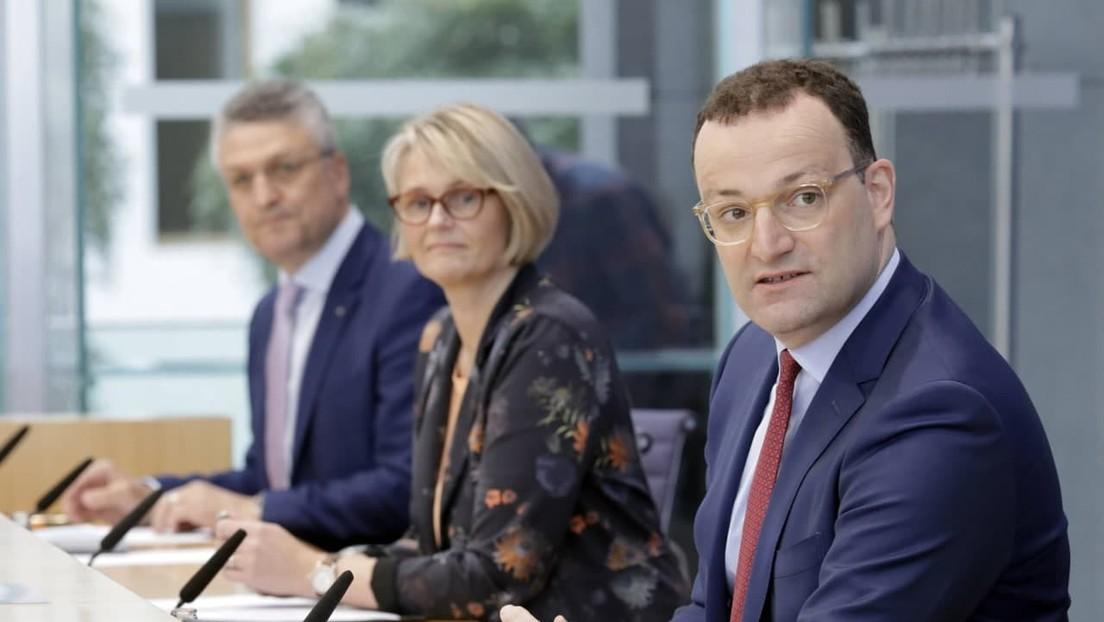 LIVE: Karliczek und Spahn zur Förderung der Medikamentenentwicklung gegen Covid19