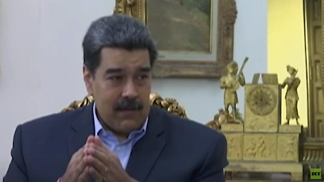 """Präsident Maduro über Opposition: """"Da sitzt die US-Regierung am Tisch"""""""