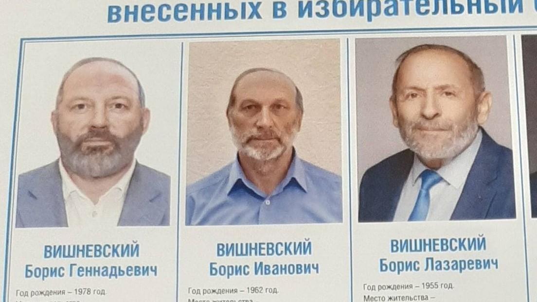 Doppelgänger-Kandidaten eines Politikers sorgen vor russischen Parlamentswahlen für Verwirrung