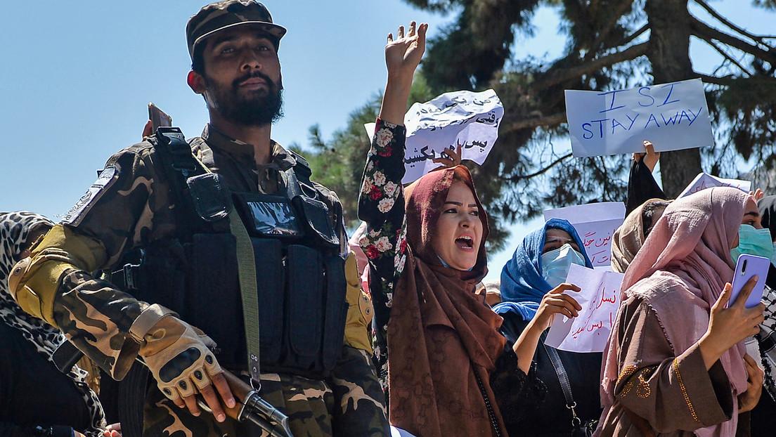 Hunderte Menschen demonstrieren in Kabul gegen Pakistan und Taliban