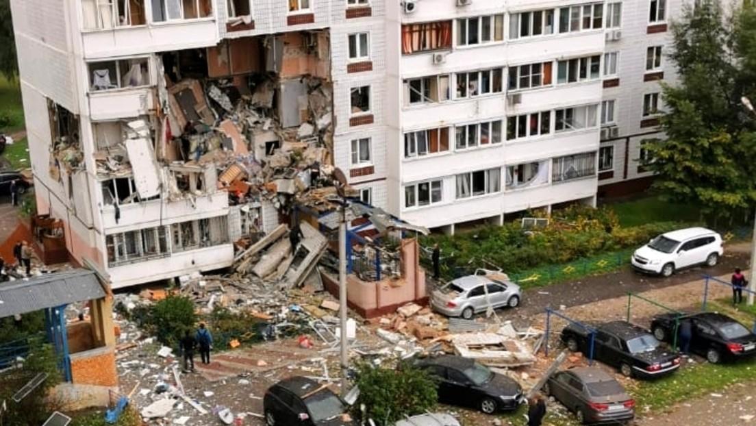 Russland: Gasexplosion in einem Wohnhochhaus bei Moskau