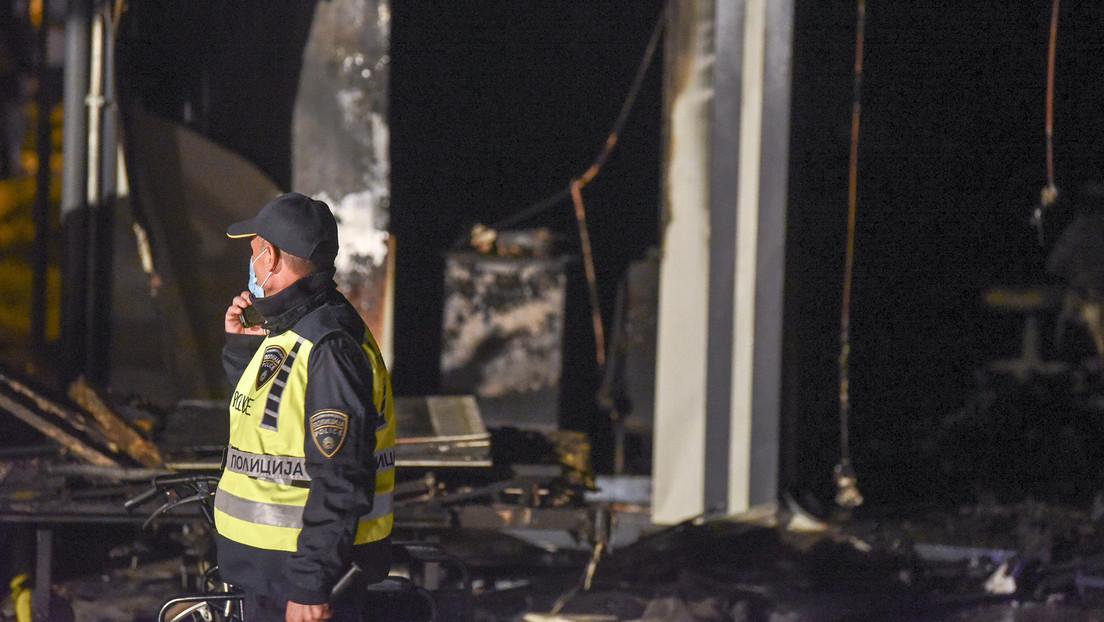 Nordmazedonien: Brand im Krankenhaus für COVID-19-Patienten – Mindestens 10 Tote