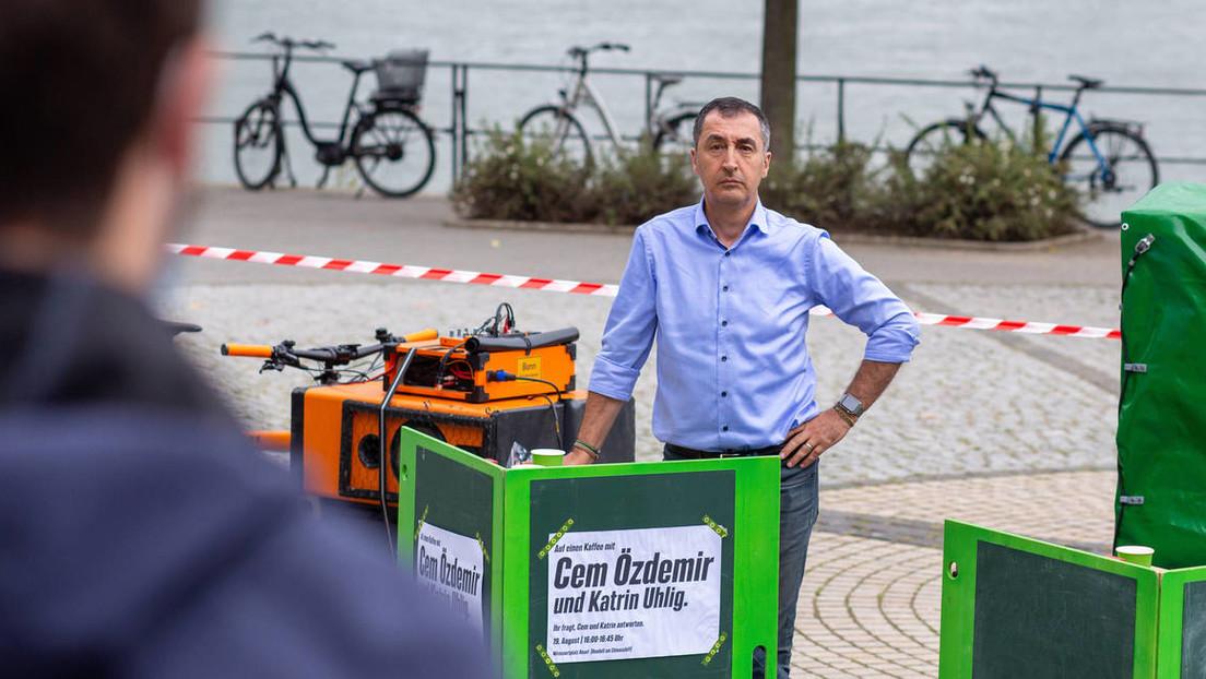 Da streikte der Benzin-Generator: Grünen-Politiker Özdemir sprach über Mobilitätswende