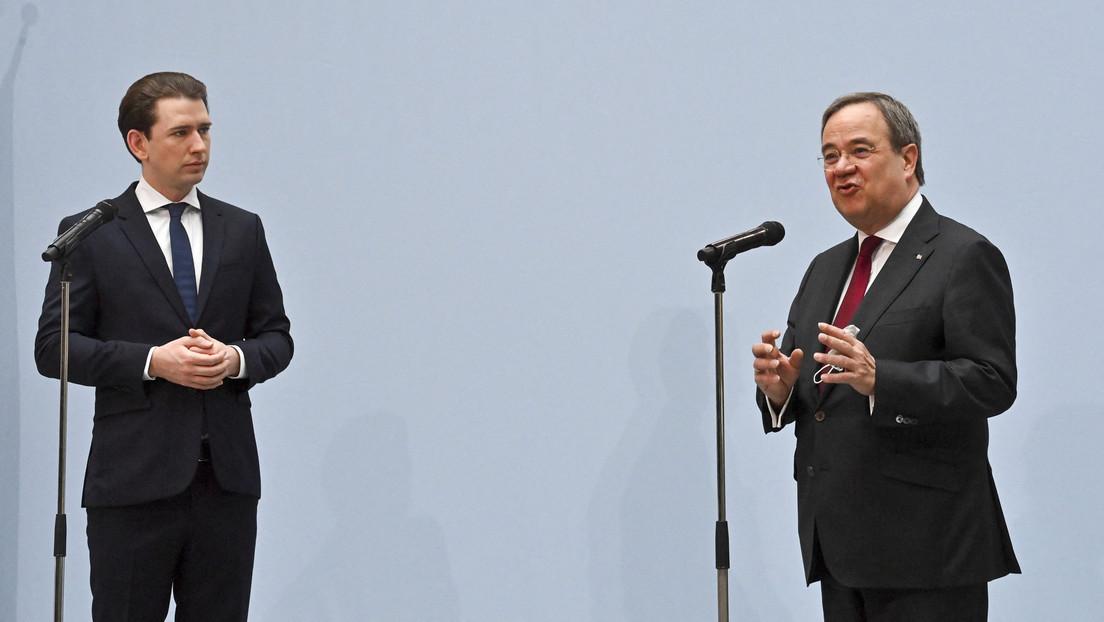 Wahleinmischung aus Österreich: Kanzler Kurz warnt vor rot-grün-roter Koalition in Deutschland
