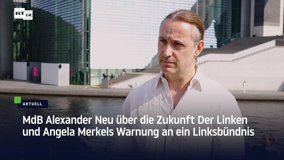 """""""Merkel hat ihr Amt missbraucht!"""" – Linken-Abgeordneter Alexander Neu im Gespräch"""