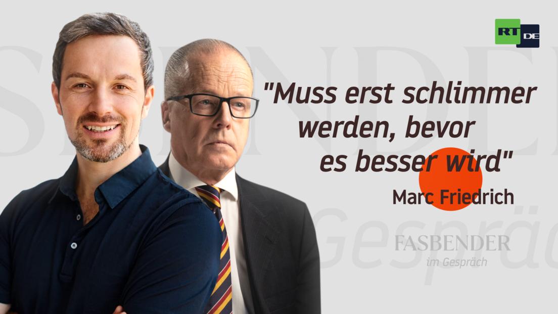 """Fasbender im Gespräch mit Marc Friedrich: """"Muss erst schlimmer werden, bevor es besser wird"""""""