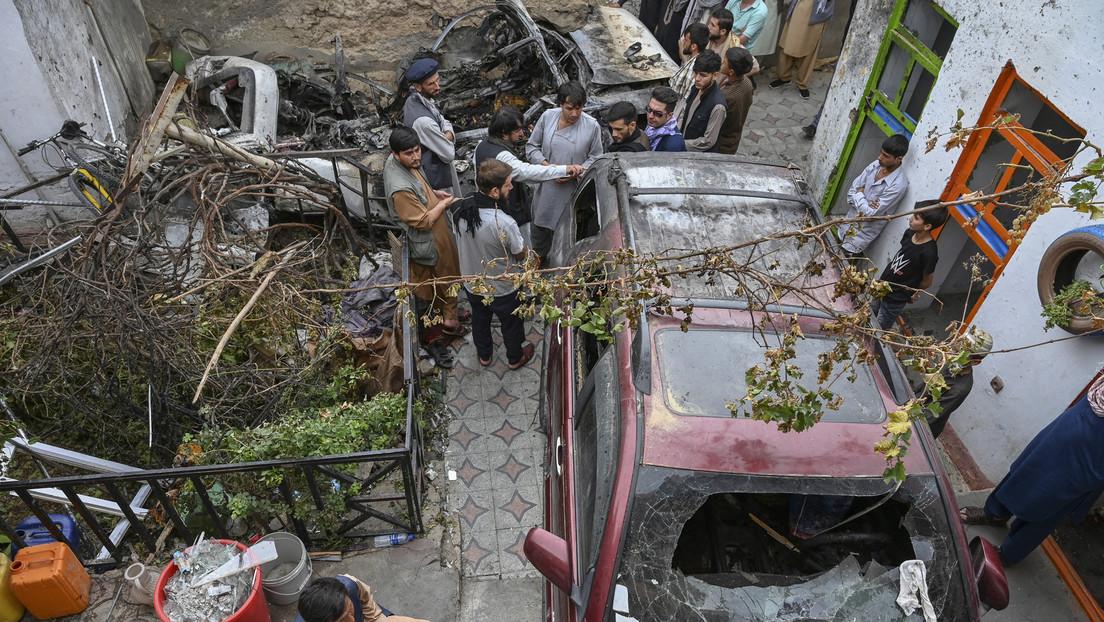 Medienbericht: USA töteten bei Angriff auf Fahrzeug in Kabul NGO-Mitarbeiter statt Terroristen