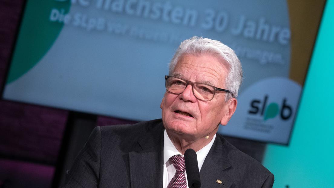 """Joachim Gauck: Impfskeptiker sind """"Bekloppte"""""""