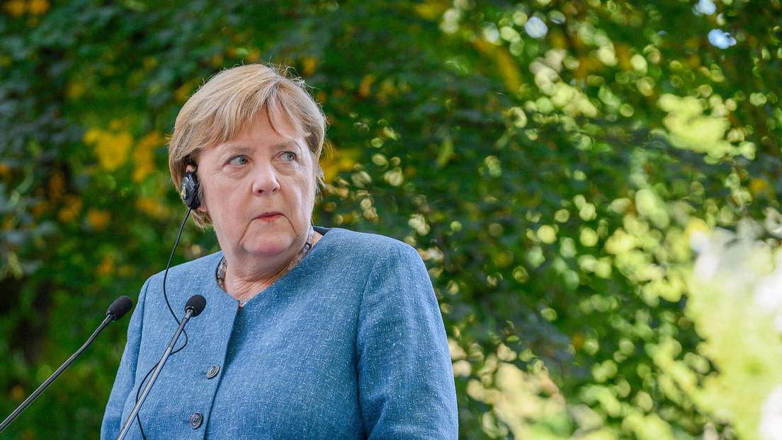 """Merkel verurteilt """"hybride Attacken"""" durch Weißrussland als """"inakzeptabel"""""""