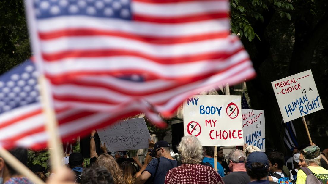 Joe Bidens Anordnung zur obligatorischen Impfung könnte die USA direkt in einen Bürgerkrieg führen