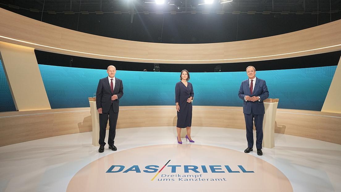 ARD-Umfrage: Scholz gewinnt auch zweiten TV-Dreikampf