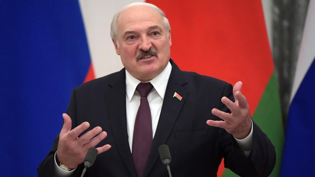 """Lukaschenko: Reden nicht mit dem Westen, bis """"hirnlose Sanktionen"""" aufgehoben sind"""