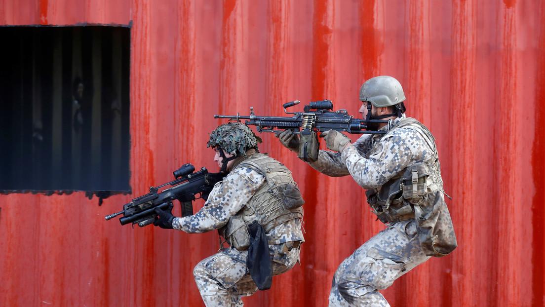 Lettland: Militärübung mitten in der Hauptstadt sorgt für Angst und Empörung unter Passanten