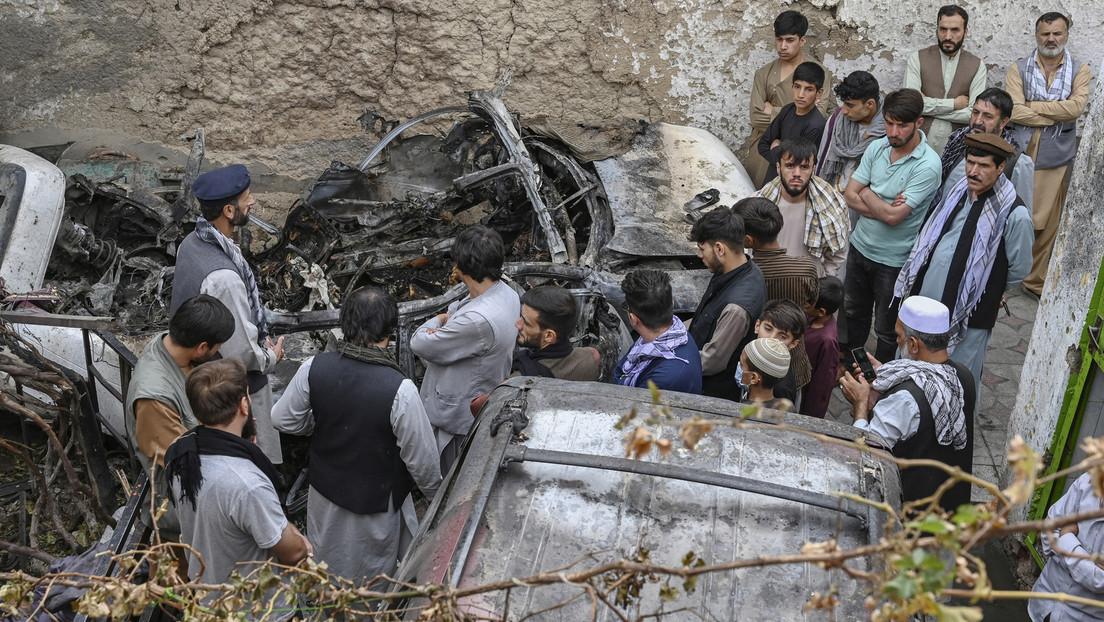 """Drohnenangriff in Kabul: Pentagon beharrt trotz ziviler Opfer auf """"Schutz vor Anschlag"""""""
