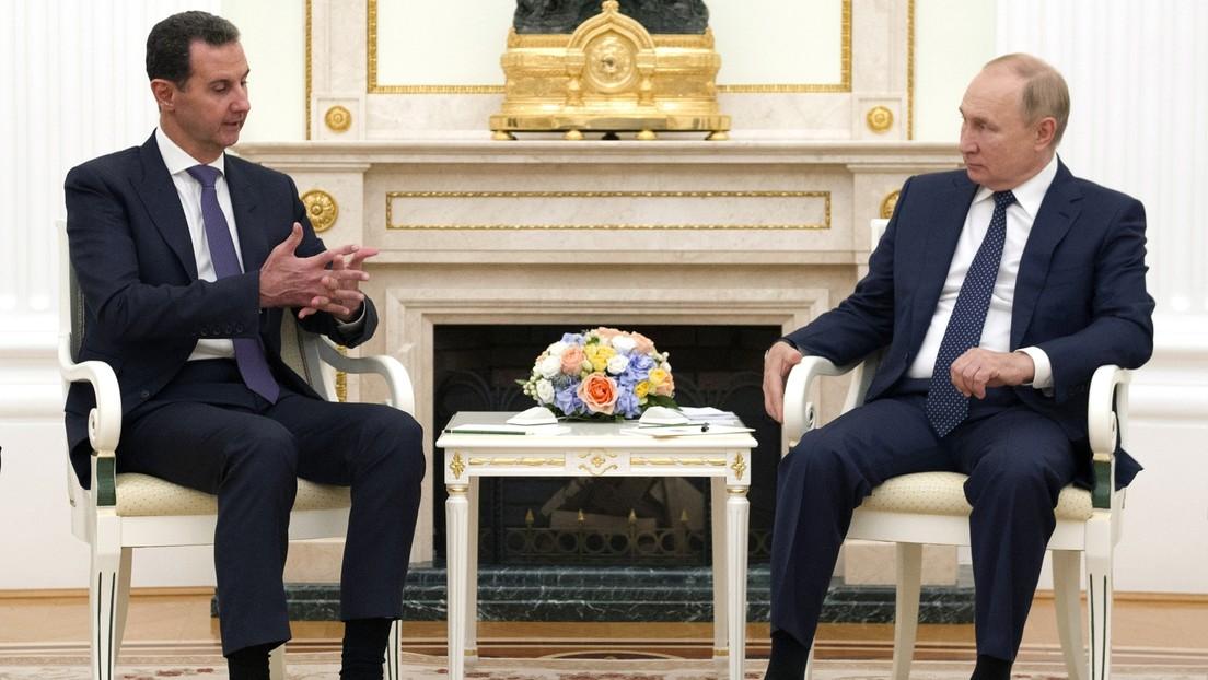 Assad zu Besuch in Moskau – Putin kritisiert illegale ausländische Militärpräsenz in Syrien