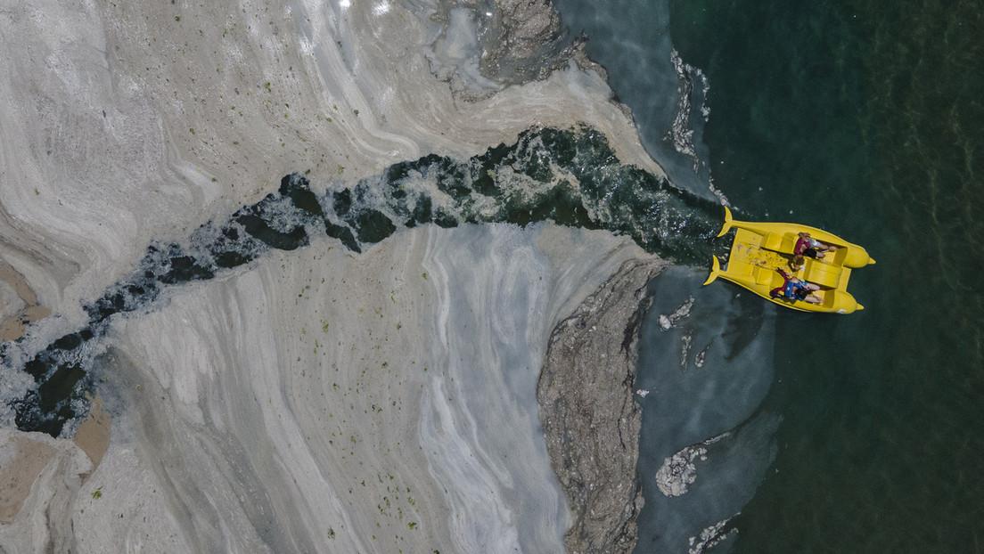 """Marmarameer """"irreversibel"""" geschädigt – Bilder einer Naturkatastrophe"""
