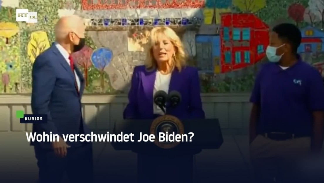 Seine Frau spricht, er verschwindet: Wo ist Joe Biden hin?
