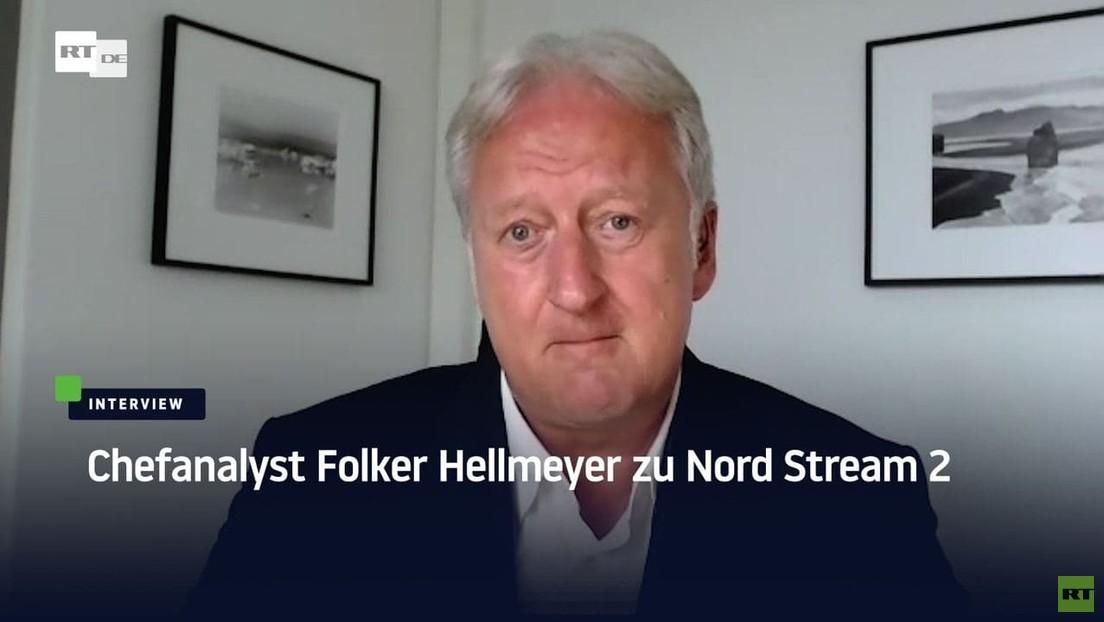 """Chefanalyst Folker Hellmeyer zu Nord Stream 2: """"Wir schaffen Energiesicherheit für ganz Europa"""""""