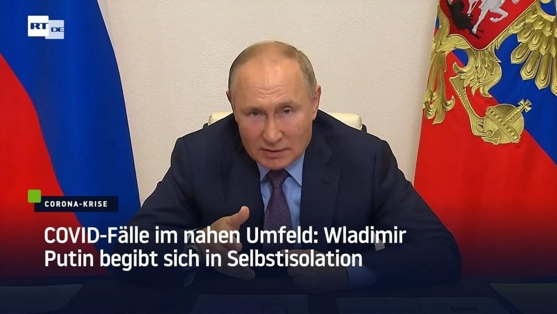 """Putin in Selbstisolation: """"Das ist nun ein Experiment"""""""