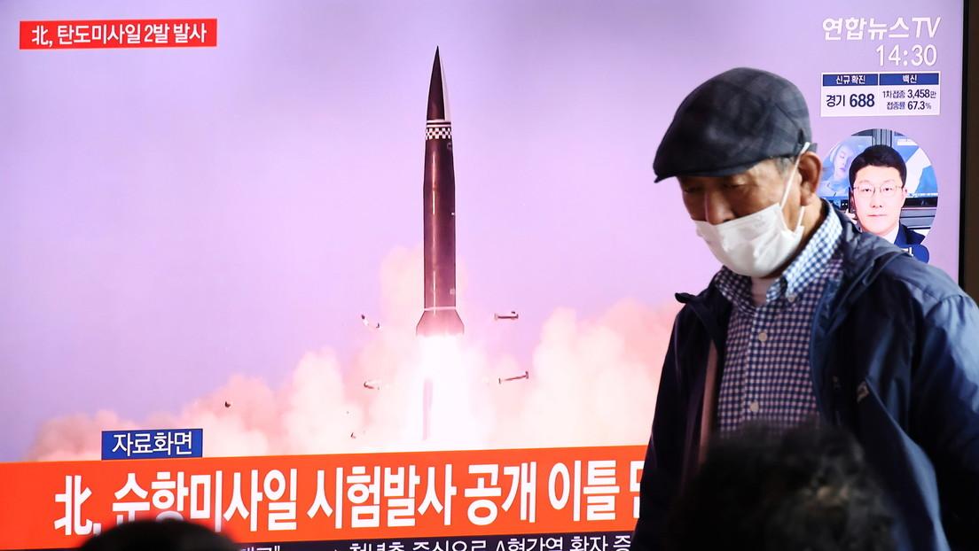 """Bericht: Nordkorea startete zwei """"nicht identifizierte Projektile"""""""