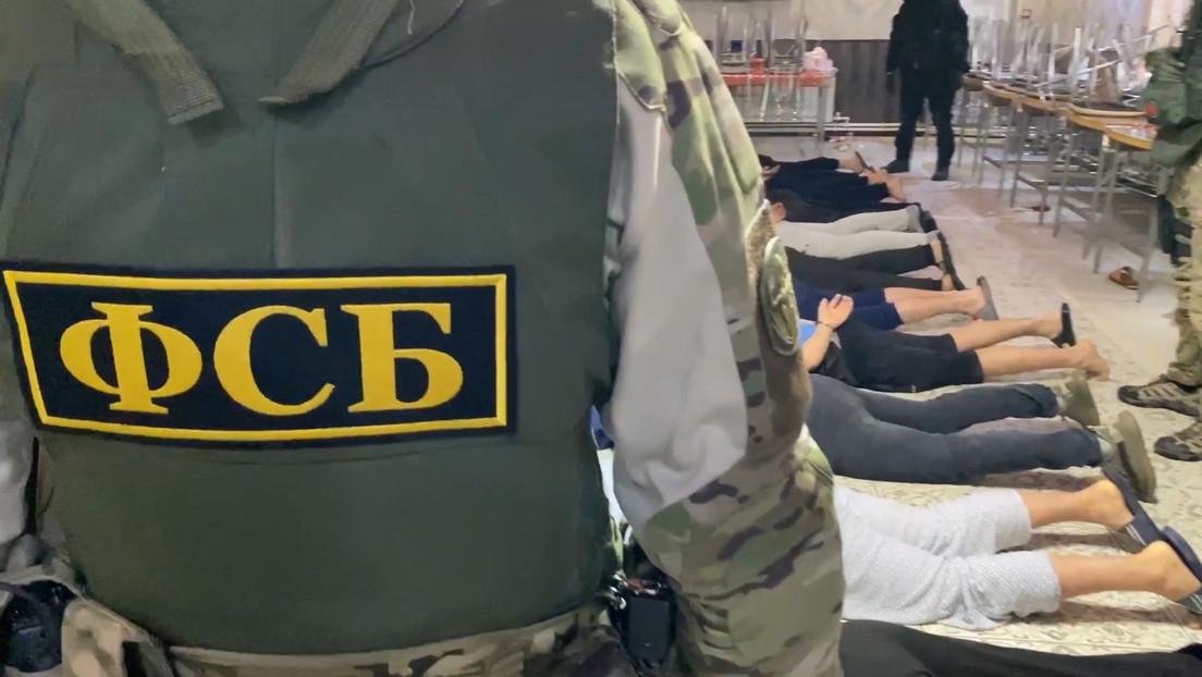 Russischer Inlandsgeheimdienst FSB nimmt im sibirischen Krasnojarsk zwei Terroristen-Anwerber fest