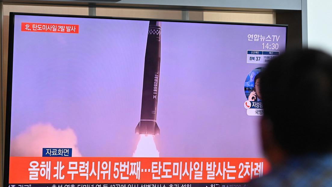 Als Reaktion auf nordkoreanischen Raketentest: Südkorea testet erstmals eine U-Boot-Rakete