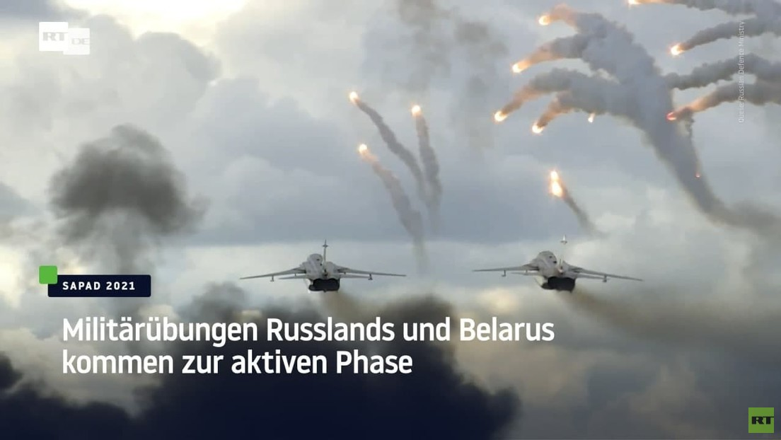 Militärübungen Russlands und Belarus kommen zur aktiven Phase