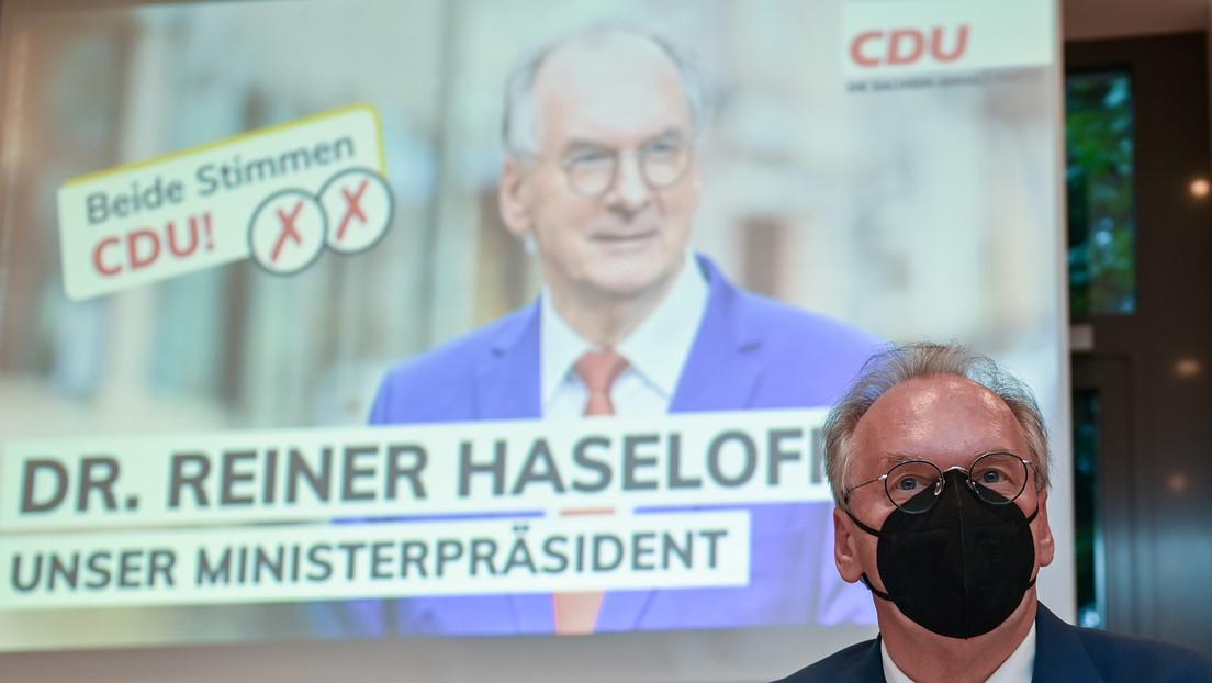 Sachsen-Anhalt: CDU-Politiker Haseloff fällt bei Ministerpräsidentenwahl im ersten Wahlgang durch