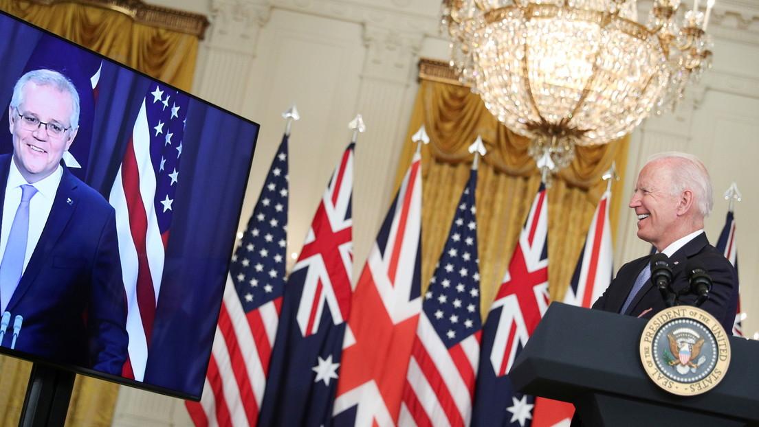 """Australien schließt """"Verteidigungspakt"""" mit USA und Großbritannien gegen China ab"""
