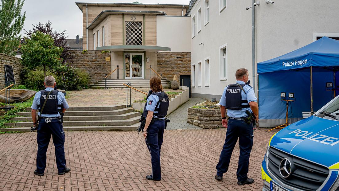 """""""Gefahr eines Anschlags"""" – Festnahmen nach Polizeieinsatz an Hagener Synagoge"""
