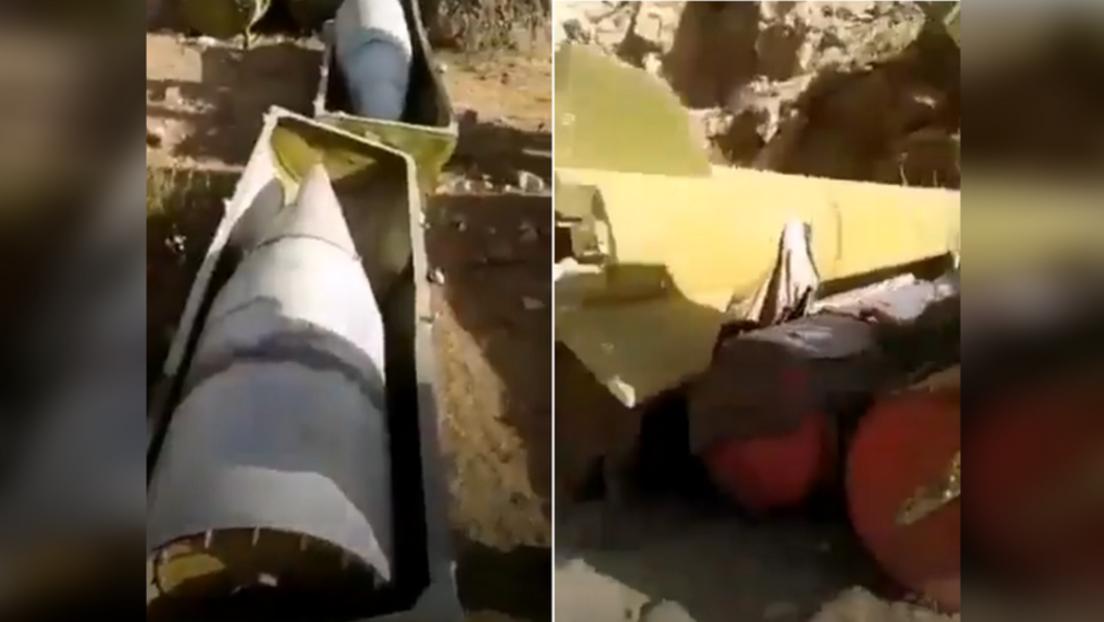 Taliban entdecken ballistische Raketen sowjetischer Herkunft in einem Versteck im Pandschir-Tal