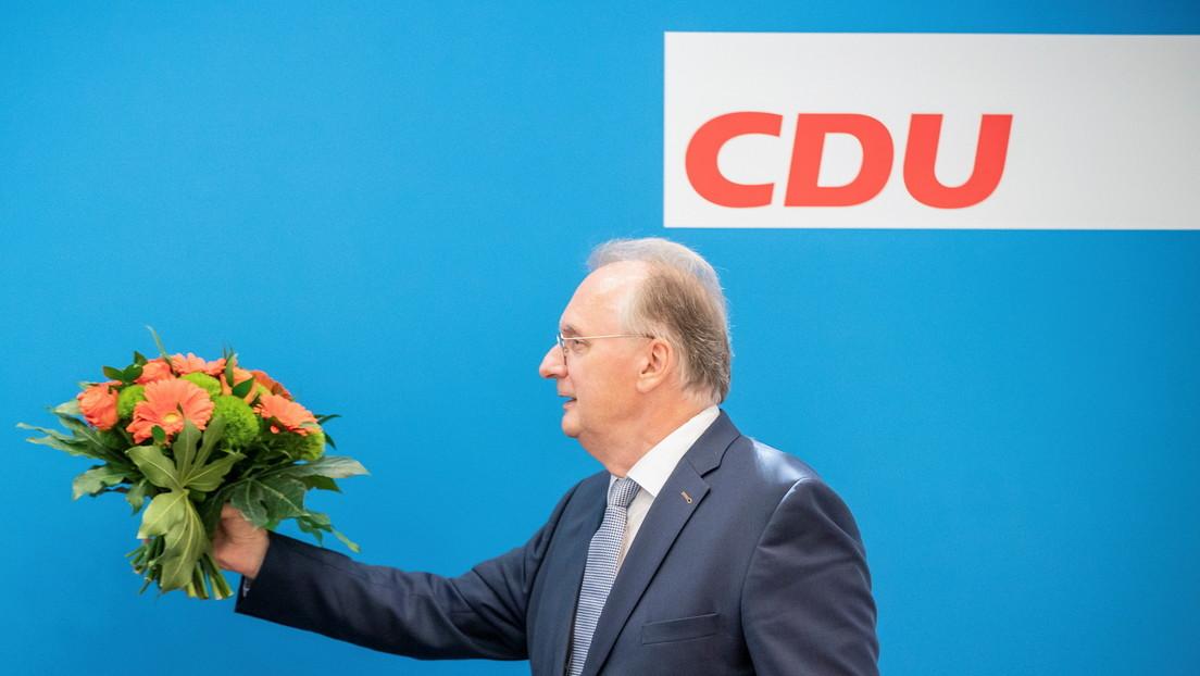 Im zweiten Anlauf: Haseloff als Ministerpräsident von Sachsen-Anhalt gewählt