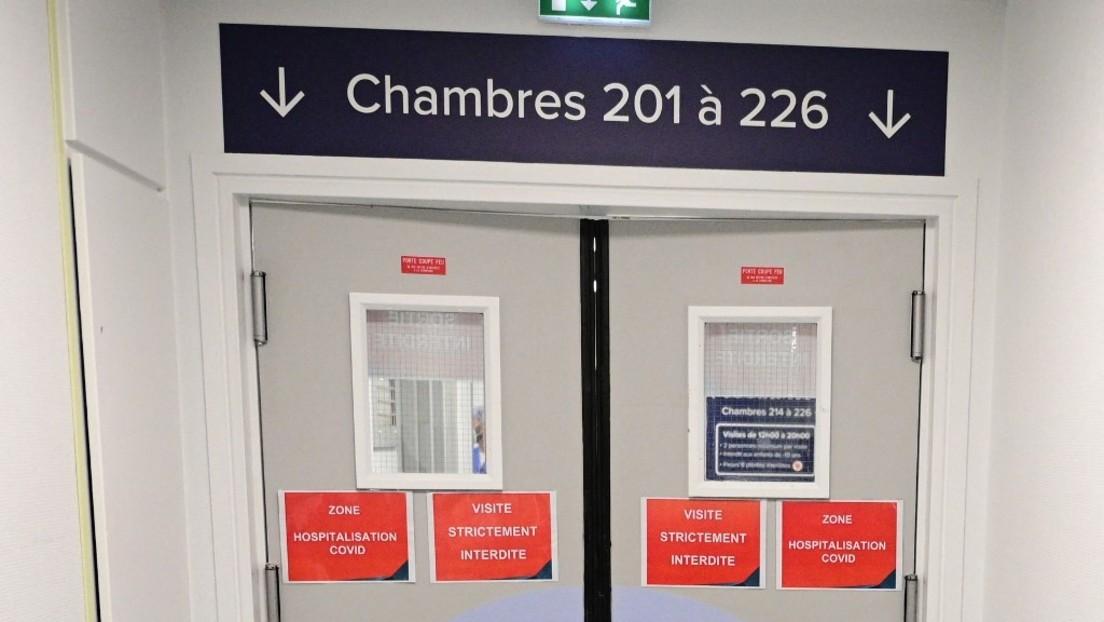 Weil sie noch nicht geimpft sind: 3.000 Mitarbeiter im französischen Gesundheitswesen suspendiert